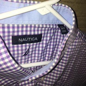 Like New Nautica Button Down Shirt